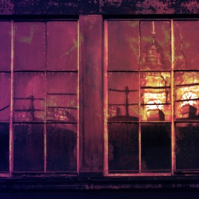 Fractured: Digital collage © 2012 Liz Ruest