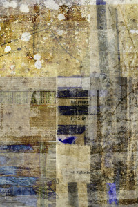 """Detail from """"can summon fire"""" digital collage by Liz Ruest"""