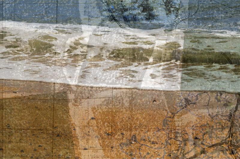 Digital collage, 20 layers © 2017 Liz Ruest