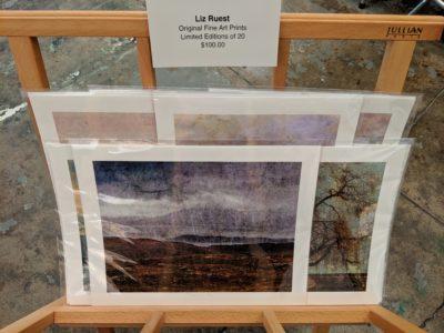 Print rack at Lynn Hanson Gallery